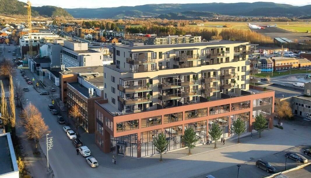 STORE PLANER: Det skal utvikles i den lille byen.
