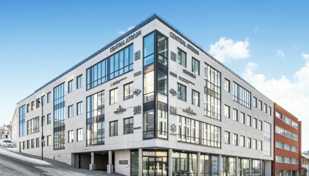 SOLGT: Eiendommen er ett av de mest moderne kontorbyggene i Bodø sentrum.