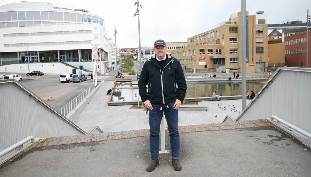 BLOGGER: – Jeg tror Ensjø blir veldig bra til slutt, sier Per Øvind Eriksen, som siden 2008 har skrevet bloggen Ensjø aktuell informasjon.