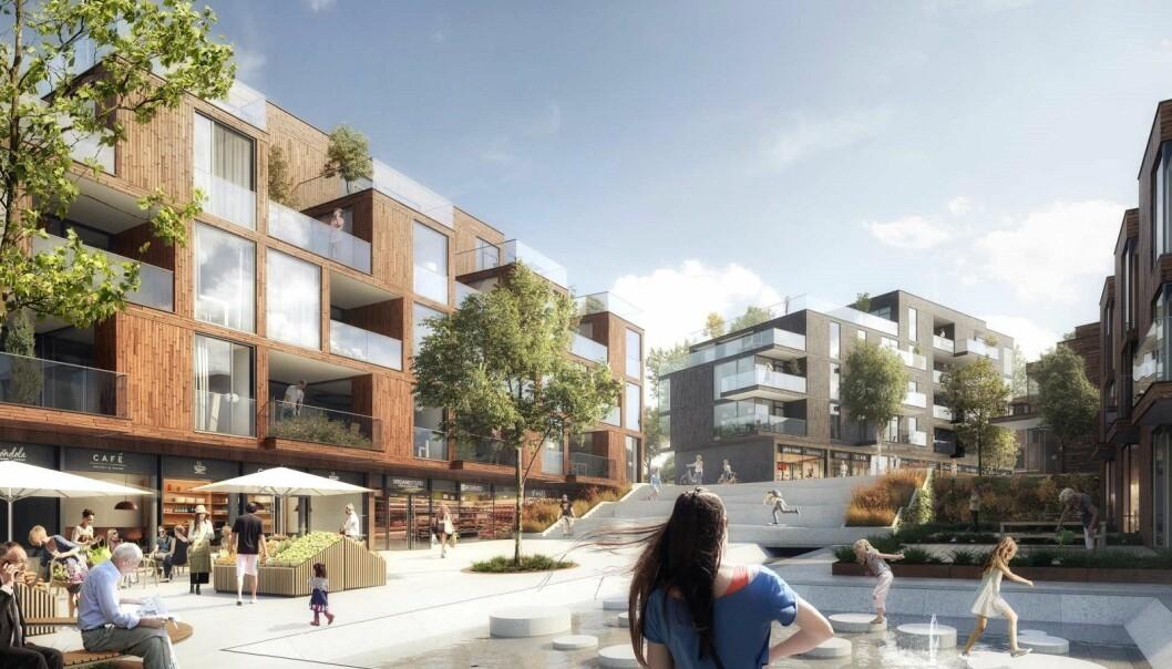 VEKST: Kommunens mangel på leiligheter kan raskt bli endret i årene som kommer.