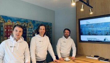 Amsterdam-teamet, Flexspace B.V. Fra venstre: Job Steverink, daglig leder, Martijn Smits og Sander Winterswijk, begge partnere i 1530 Real Estate B.V.