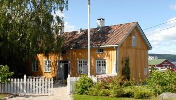 VATIKANET: Dette huset fra 1750 var et vrak da Halvorsen tok over.