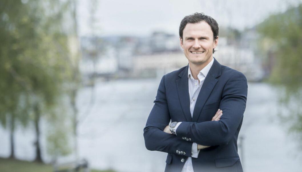 IKKE SÅÅÅ RUGLETE: Simon Stordalen i Bratsberg Næringseiendom spådde et ruglete 2020 for ett år siden, men året gikk bedre enn forventet..