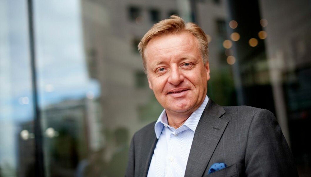 STERK HISTORIE: Olav T. Løvstad.