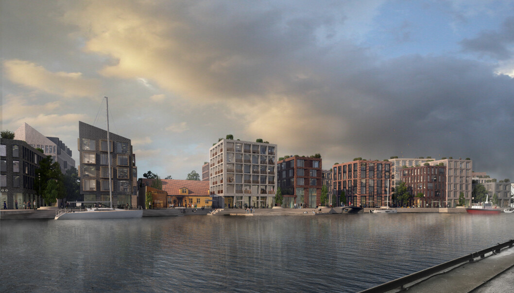 STORE AMBISJONER: Med supersentral beliggenhet, har Stor-Oslo Eiendom store ambisjoner for det nye prosjektet i Fredrikstad.