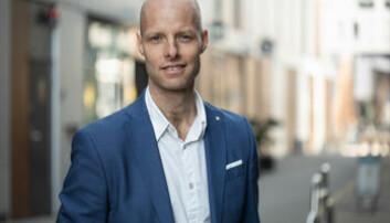 Andreas Almlid, daglig leder Nordic Guarantee.