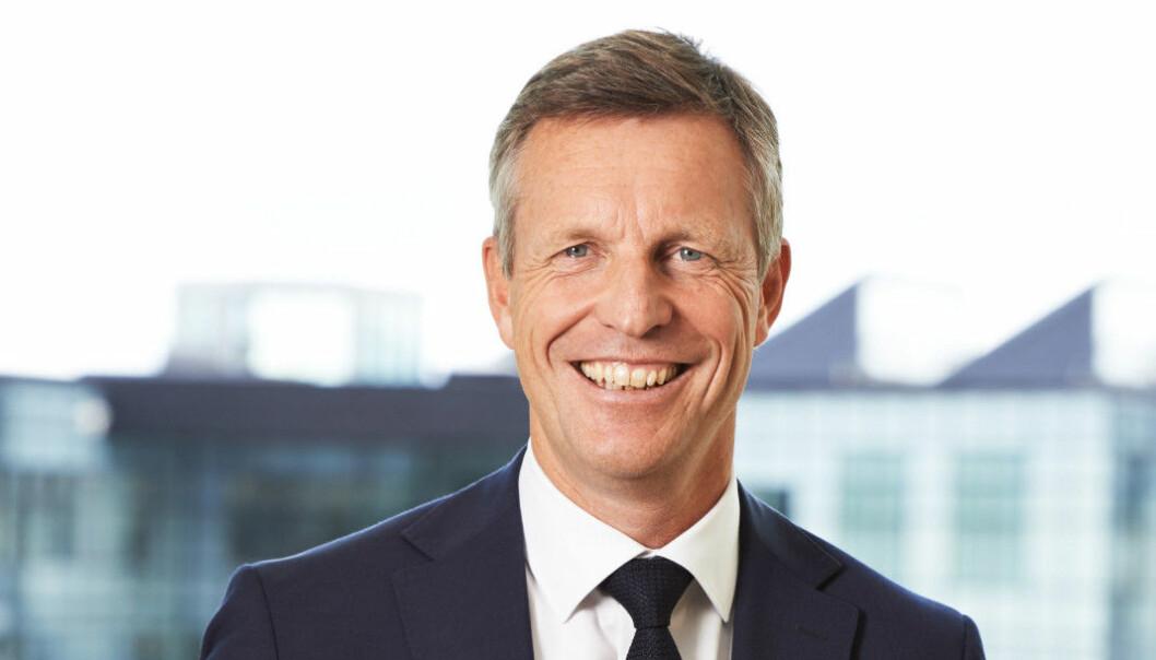 VAR UTE: Castellum-sjef Henrik Saxborn er plutselig med i kampen om Entra igjen etter å ha kjøpt seg opp til 18,2 prosent.