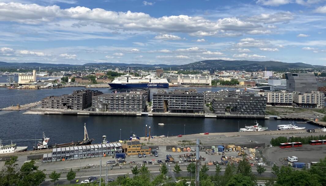 FJORDBYEN: Det er fremdeles mye som gjenstår før Fjordbyen i Oslo er ferdig utviklet.