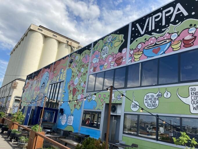 VIPPA: Populært mat-, kultur- og læringssenter helt ytterst på Vippetangen.