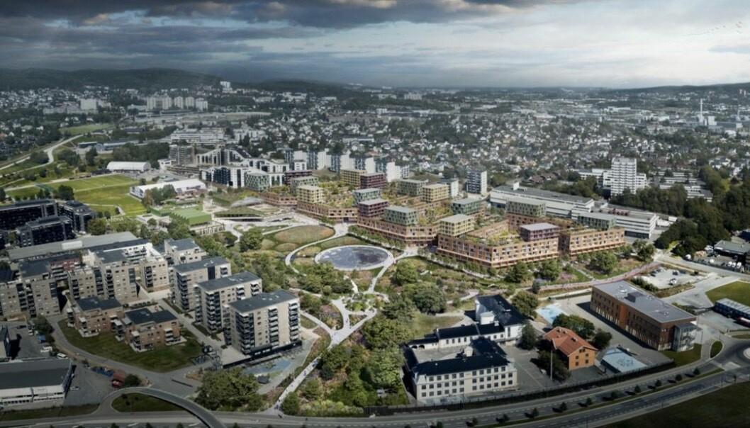 SKAL SELGE: Eiendoms- og byfornyelsesetaten forbereder den fremtidige salgsprosessen mens de venter på at reguleringsplanen blir vedtatt.