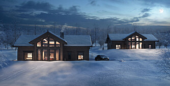 Lånebasert folkefinansiering gjorde det mulig å bygge disse eksklusive hyttene