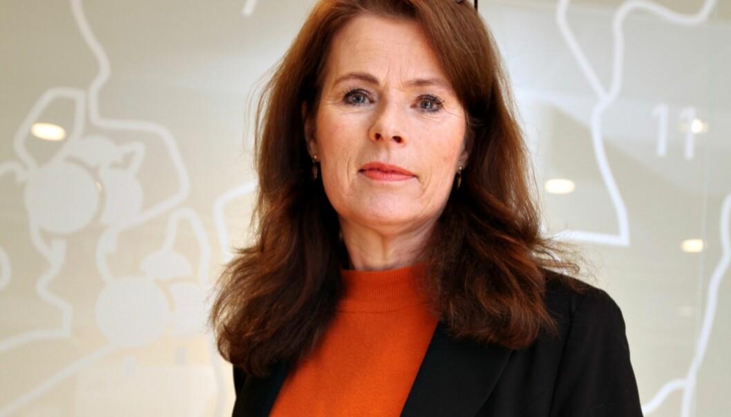 SAMARBEIDER: PBE-sjef Siri Gauthun Kiellannd har med seg Selvaag Bolig, Neptun Properties, Norsk Eiendom, Asplan Viak og Strak AS i en referansegruppe for å se på effektiviseringstiltak i planprosessene.
