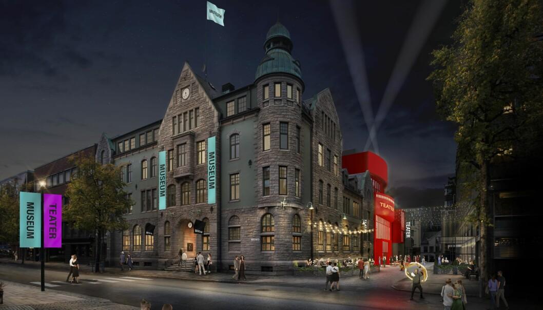 Planen omfatter et nybygg på 7-9 etasjer, mens de kulturhistoriske verdiene i Trondheim postgård skal ivaretas.