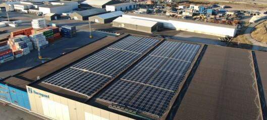 Pilotprosjekt for lagring av solenergi