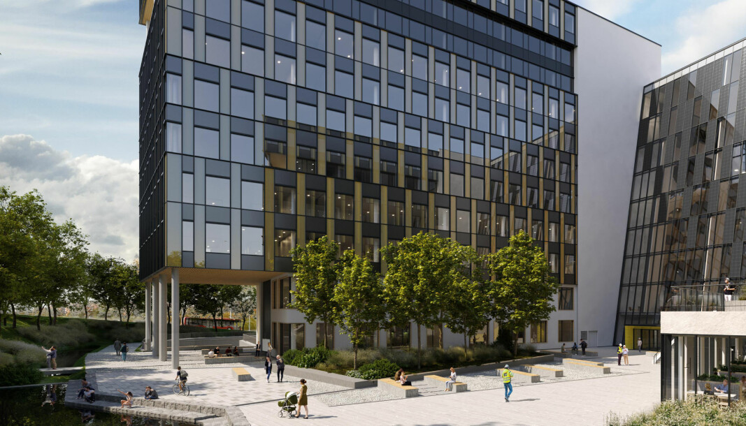SAMLES: Byggebransjen skal samles på Construction City på Ulven.