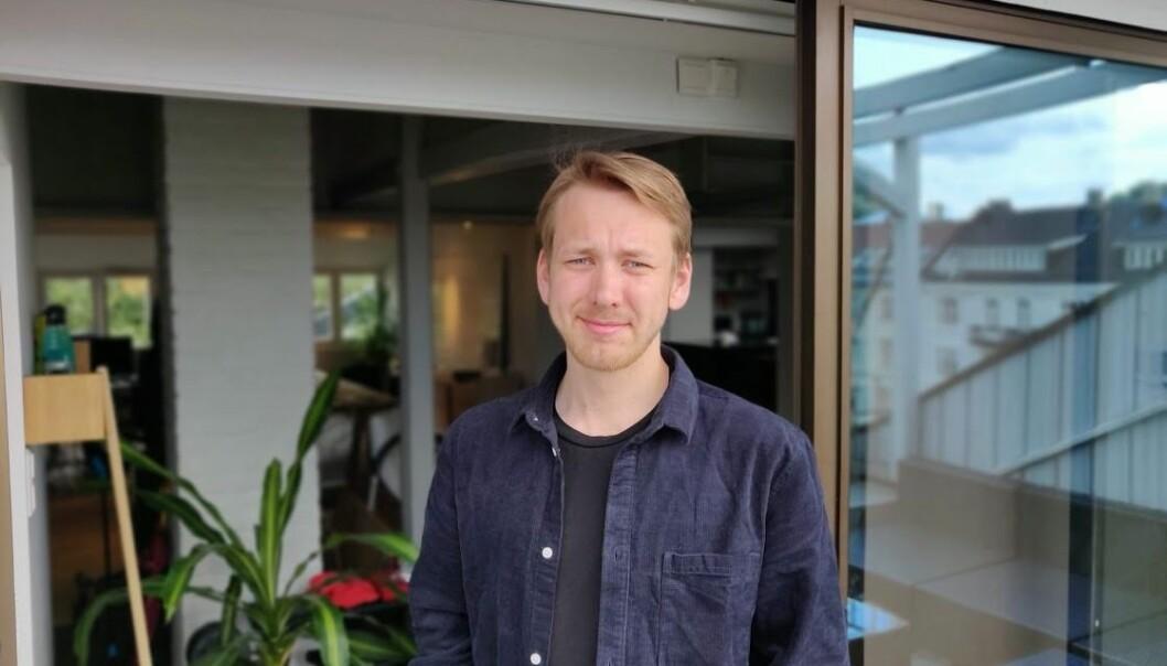 Mathias Etnestad ble ansatt i Solgt.no via Twitter-kontoen «Krølla50lapp».