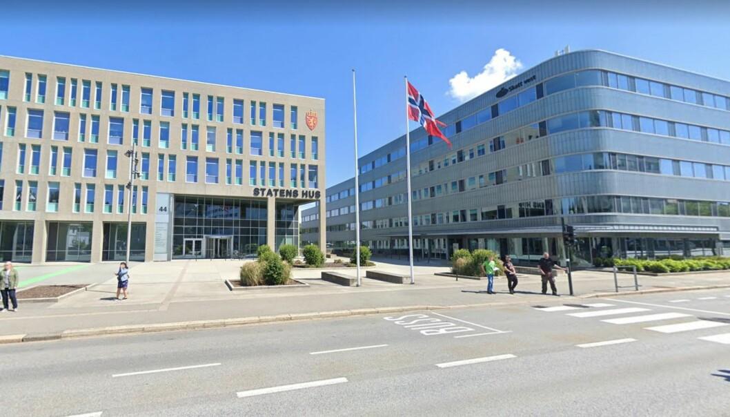 NABOER: Storebrand Eiendomsfond Norge eier allerede Statens Hus til venstre, og har nå sikret seg nabobygget Skattens Hus.