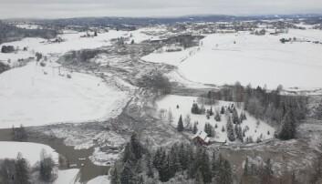 Mye kvikkleire – særlig rundt Oslo og Trondheim