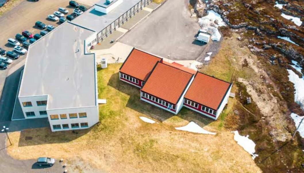 OFFENTLIG LEIETAKER: Skolen er leid ut til Alta kommune.