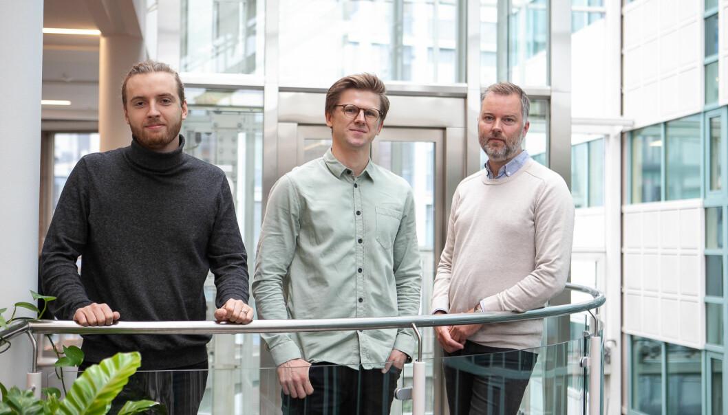 ANTLER-PROGRAM: Ideen og selskapet Modulize ble til som endel av Antler-programmet i høst, der gründerne Olav Ljosland, Lucas Carstens og Håkon Kalbakk møttes.