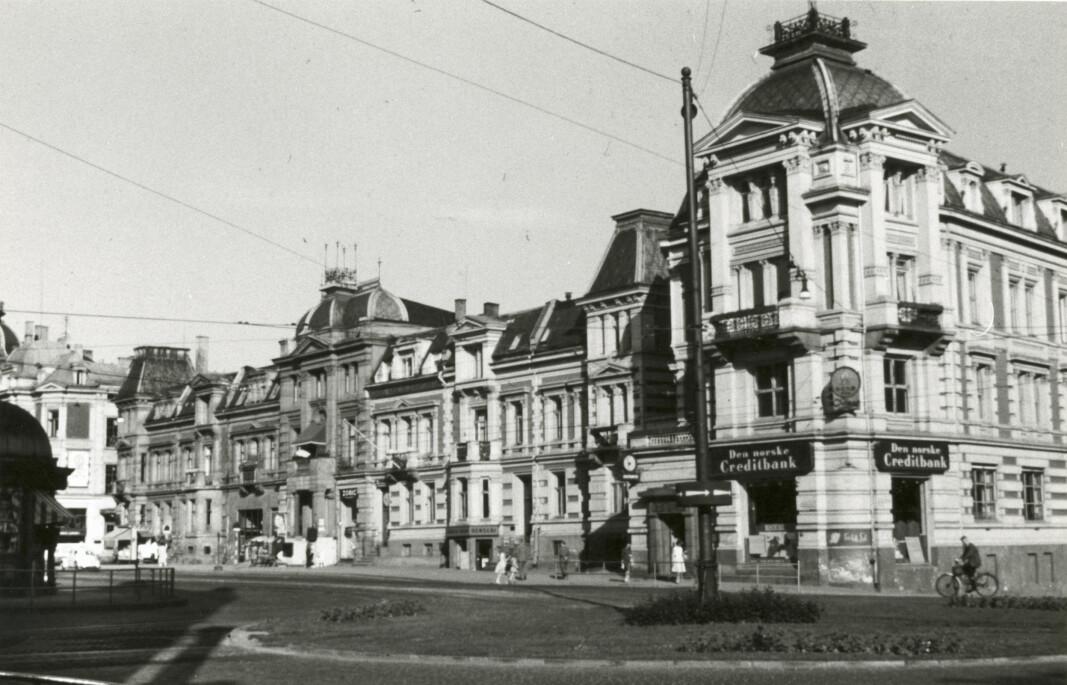 OVERKLASSE: Det engelske kvarter inneholdt opprinnelig noen av byens mest eksklusive boliger.