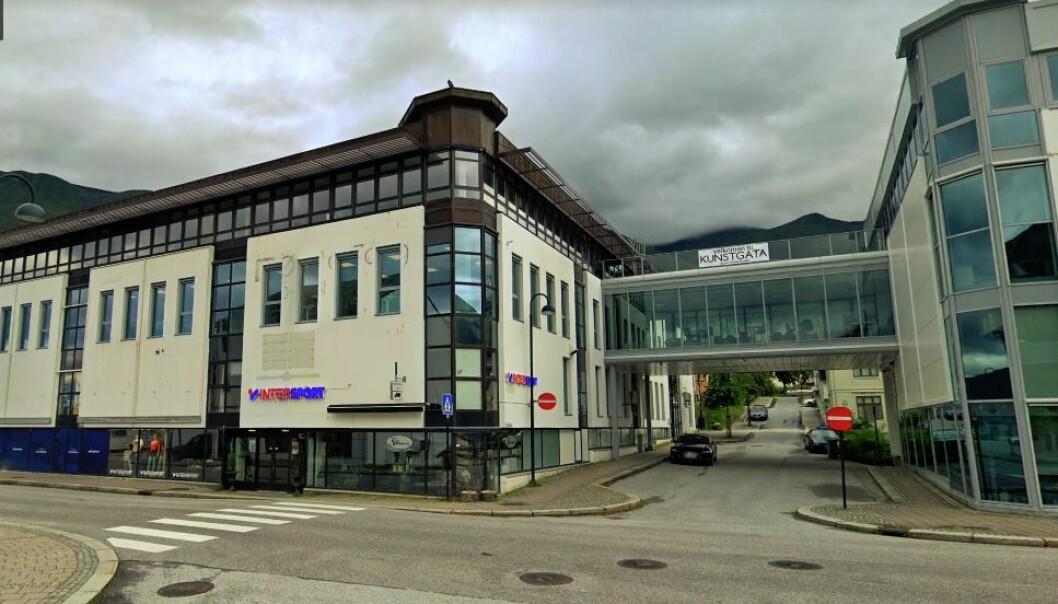 SOLGT: Kjøpesenteret ble konvertert til kontorer - nå har det fått ny eier.