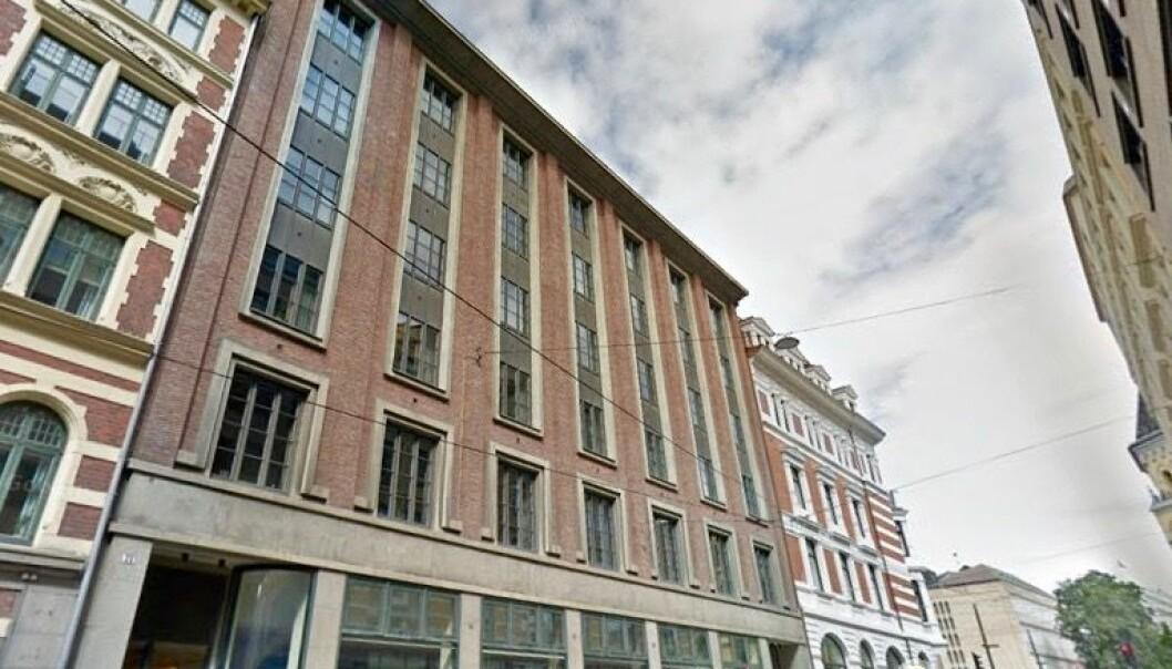 TIDLIGERE HOTELL: Bygget ble oppført som Astoria hotell 1928-30 (Astoriagården).