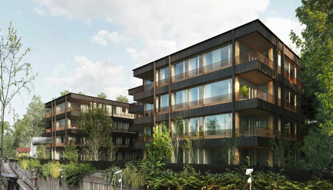 39 BOLIGER: Det skisseres 39 leiligheter og et samlet bruksareal på 3.354 kvadratmeter.