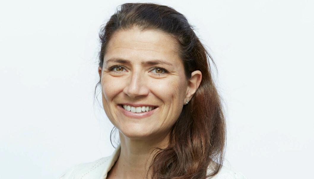 GODT: 2021 har så langt vært et godt år for Entra og administrerende direktør Sonja Horn.