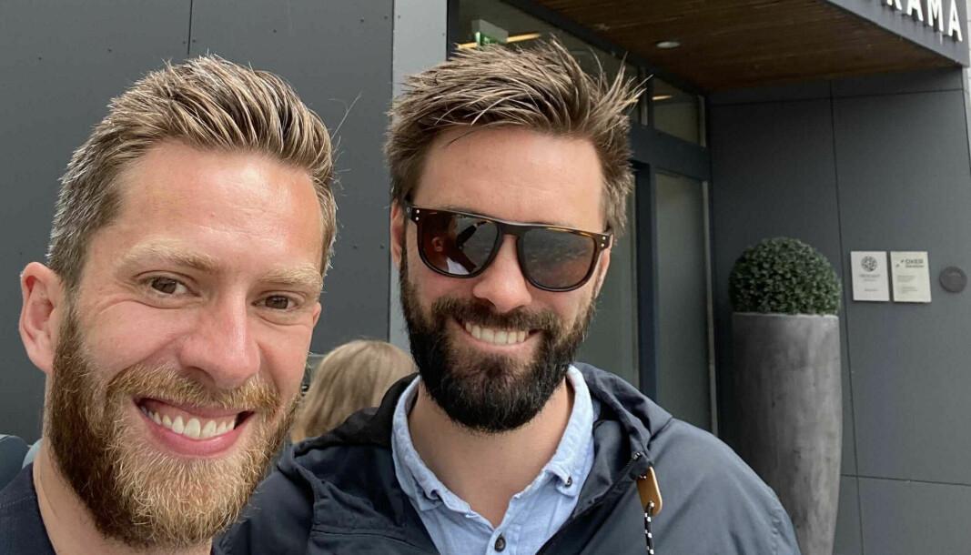 NYTT: Dagfinn Edvardsen leder teknologiselskapet Really! og Anders Brekke er ansvarlig for forretningsutvikling.