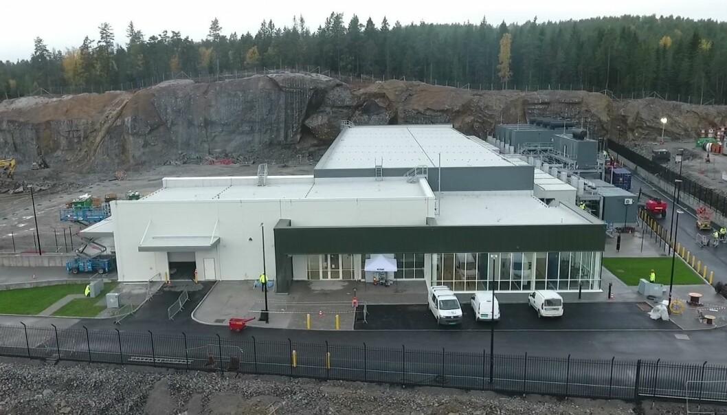 SOLGT: Dette er ett av tre norske datasentre som nå er solgt.