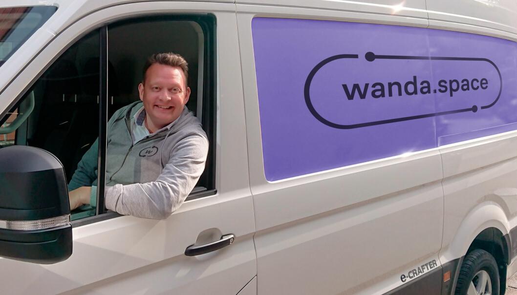 PLASS: - Wanda ble startet med et felles mål om å gi folk i byen enklere, mer fleksibel og rimeligere tilgang på plass, når de trenger det, sier CEO Lars Syse Christiansen.
