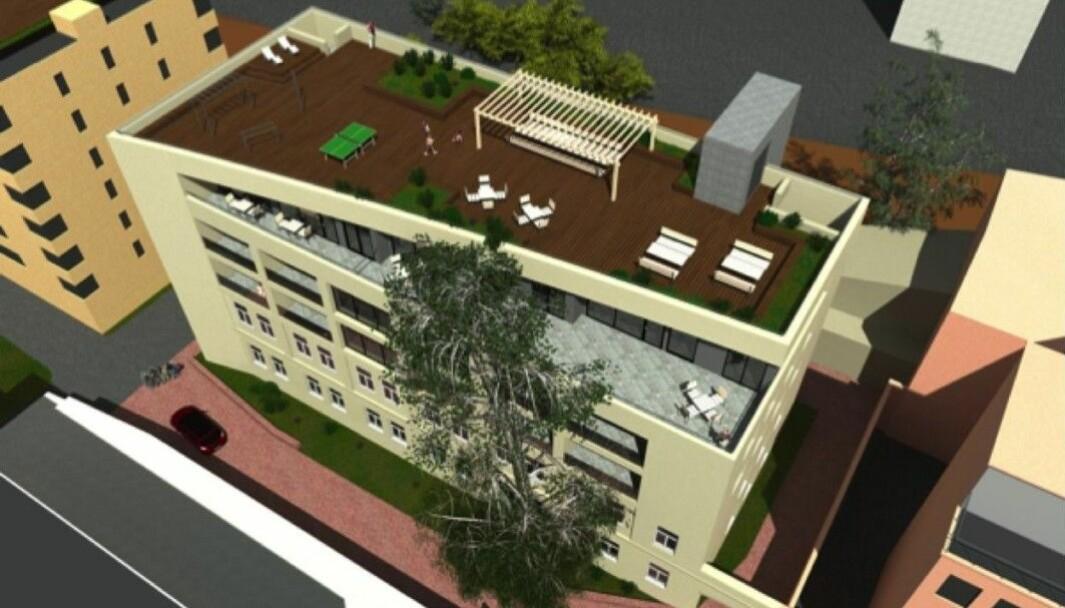 BOLIGER: Spabo ønsker å utvikle eiendommen til boligformål.