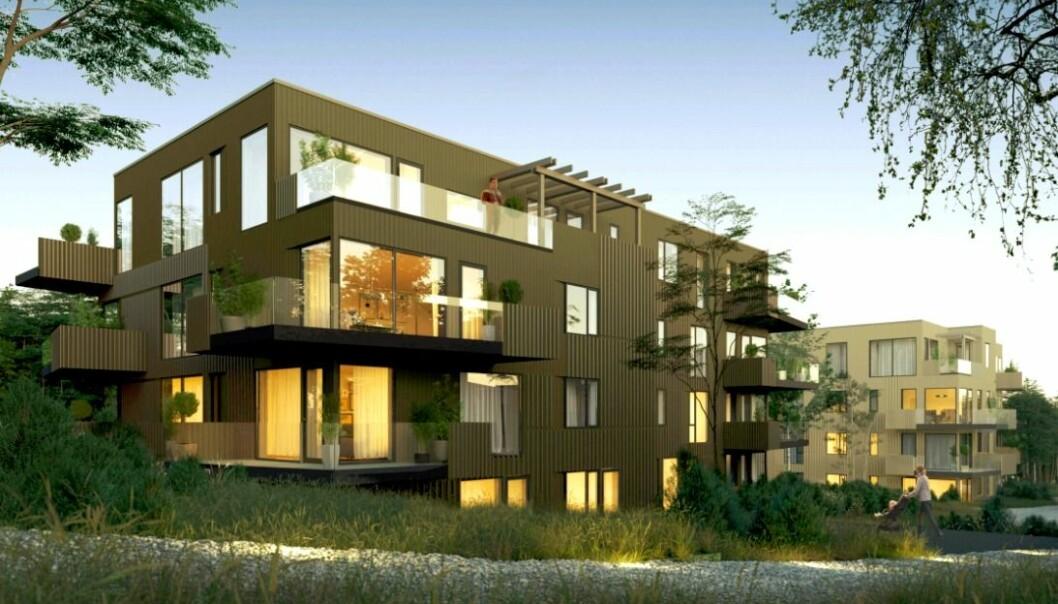BYDEL: Utviklingen av den nye bydelen er godt i gang og dette blir ett av delprosjektene.
