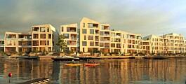 Endelig klart for boligene midt i havnebassenget (+)