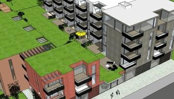 Ser for seg 350 til 400 nye boliger midt i sentrum (+)