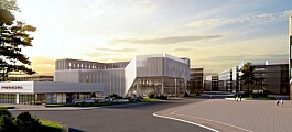 Byggingen har startet i Norges største næringspark (+)