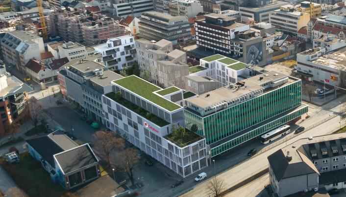 Skal oppgradere kvartalet for nesten 700 millioner kroner (+)