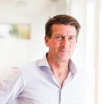 Fredrik Baumann, utviklingsdirektør Anthon B. Nilsen.