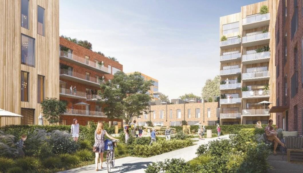 VIL OPPGRADERE: Fredensborg Bolig har ambisjoner om at Nedre Ullevål skal oppgraderes til «et flott og hyggelig nabolag med mange ulike typer boliger».