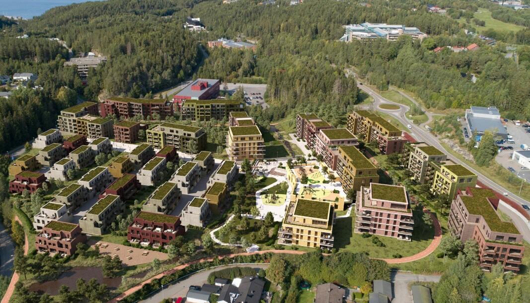 STORT: Bare dagens industri flytter ut kan dette store boligprosjektet utvikles.