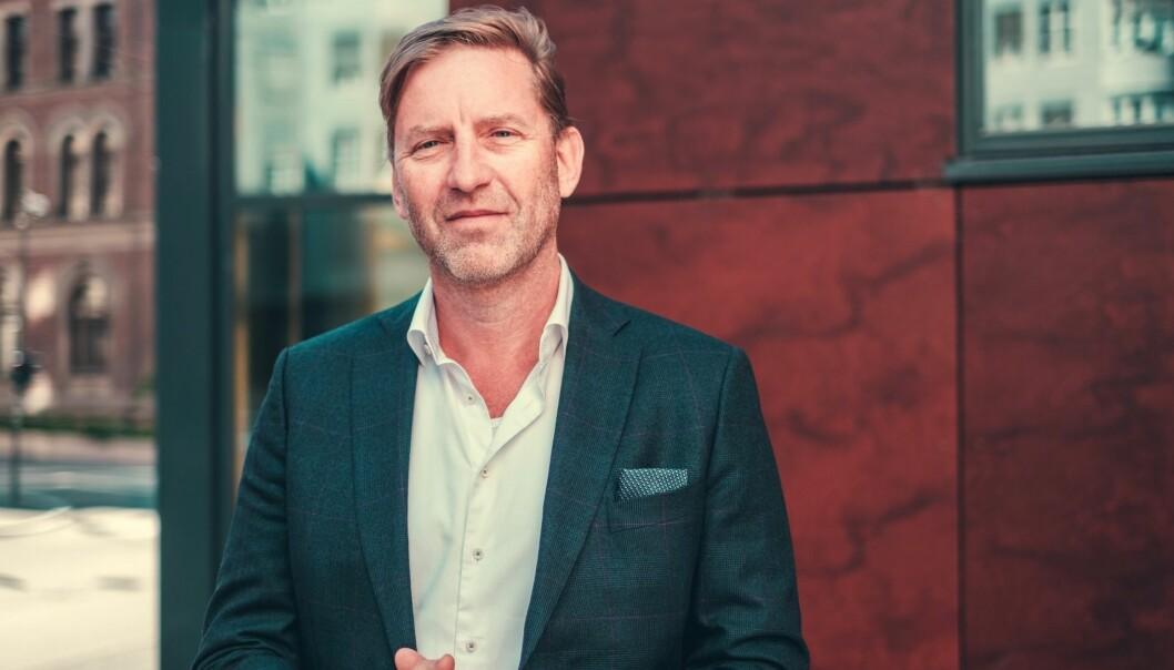 AKTIVT FØRSTE HALVÅR: Stor-Oslo Eiendoms adm. direktør Mathis Grimstad har lagt bak seg et aktivt første halvår.