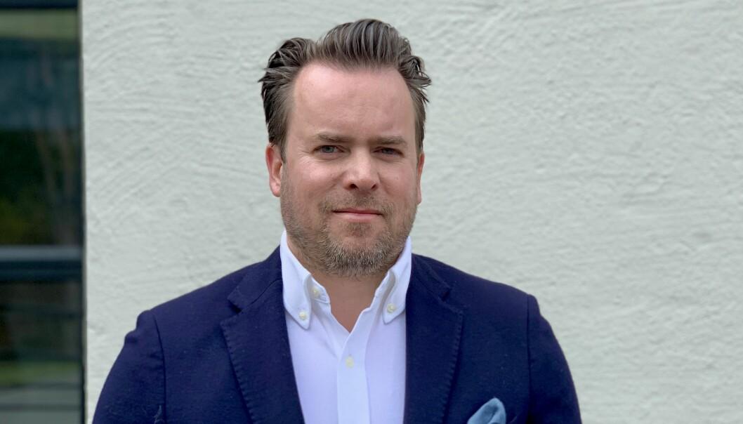 LANDET NYE INVESTORER: : Stian Elgaaen, CCO i LAFT mener smart eiendomsforvaltning har kommet for å bli. De er svært fornøyde med å ha landet et bra knippe med investorer som vil være med i en viktig fase for selskapet.