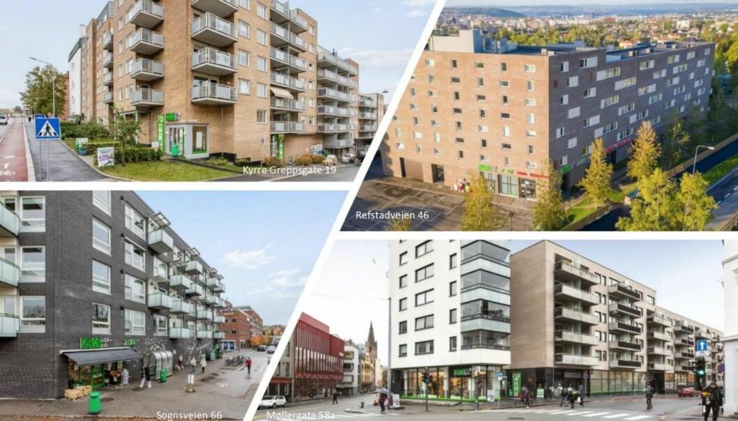 SOLGT: Salget innebærer at AKA ikke lenger har noen eiendommer innenfor Ring 3 i Oslo.