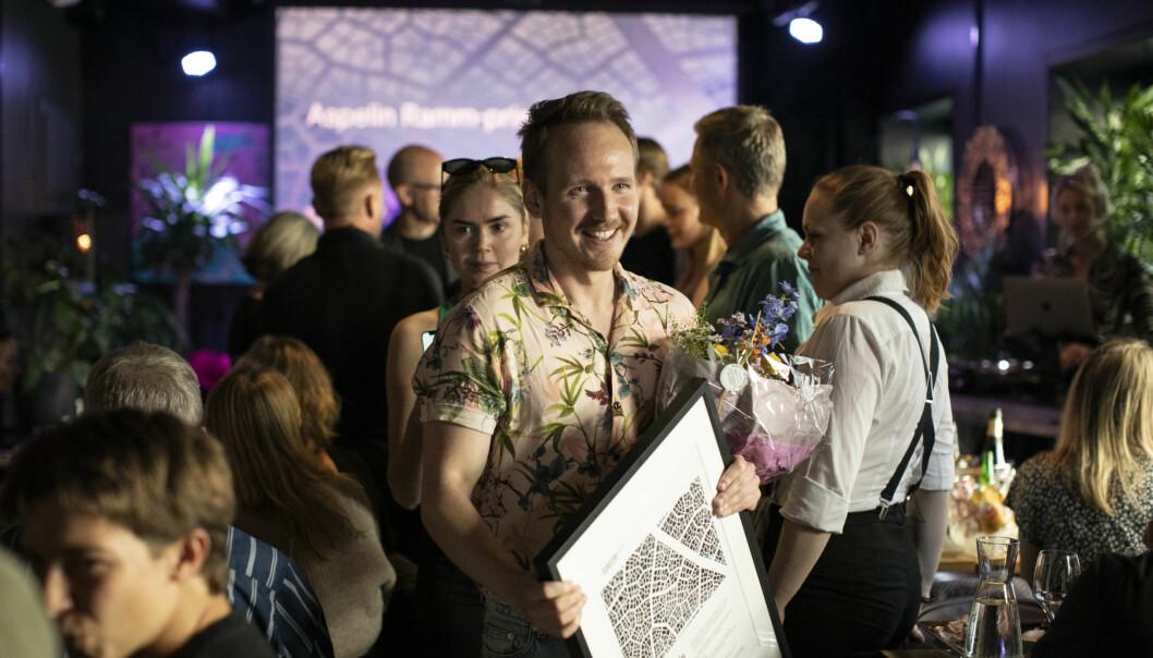 VANT: Den syvende Aspelin Ramm-prisen gikk til Yngve Bråten.