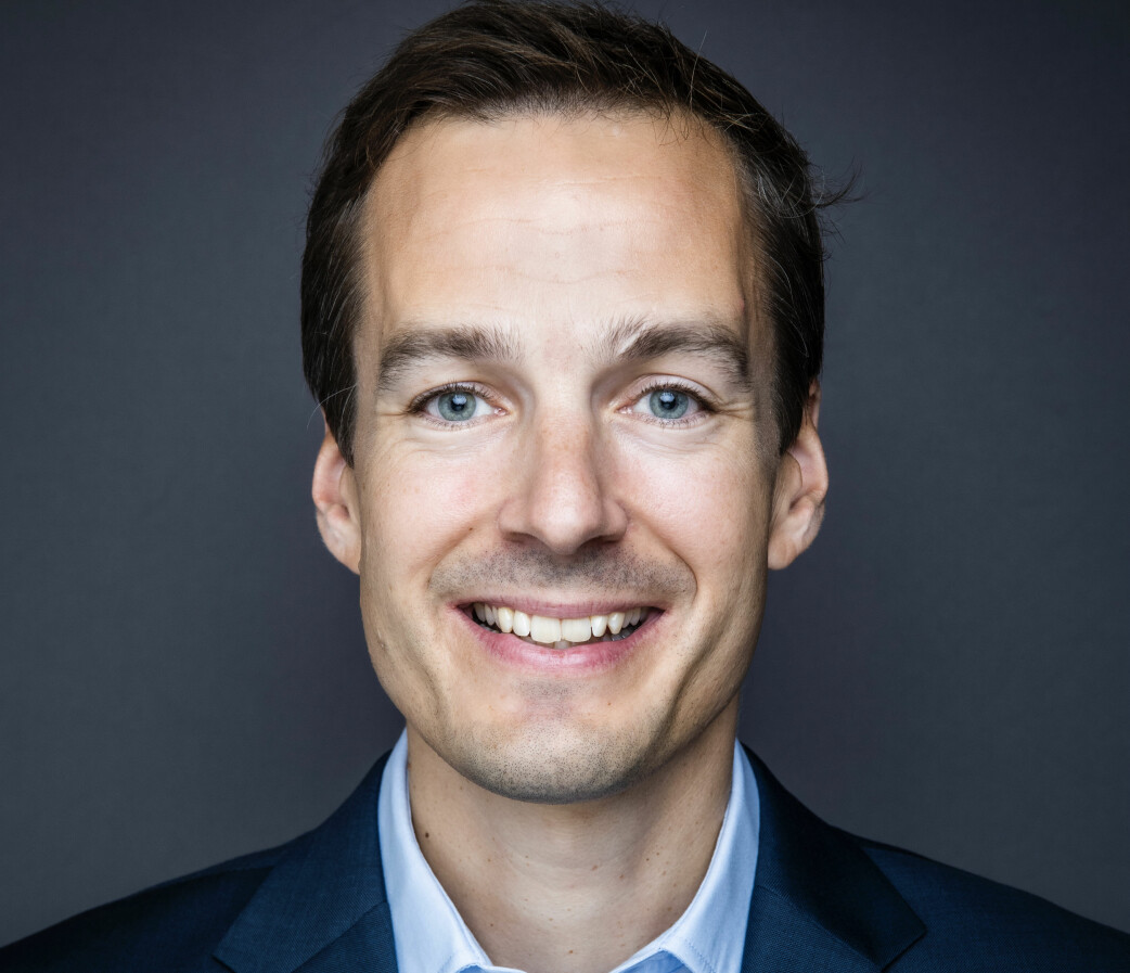 NY: Fredrik S. Myhre blir ny daglig leder.