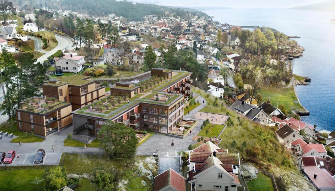 REKORD: Dette blir kommunens dyreste boliger noensinne.