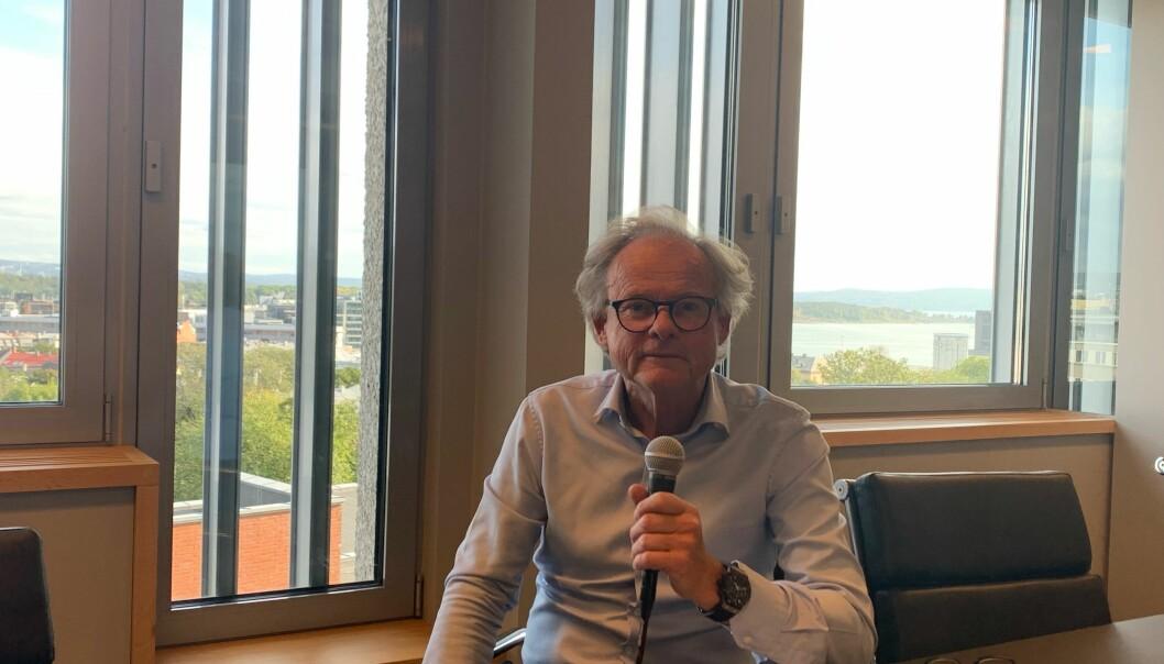 BYUTVIKLER: Hans Petter Krohnstad vil løfte det forsømte kvartalet han kjøpte i Storgata.