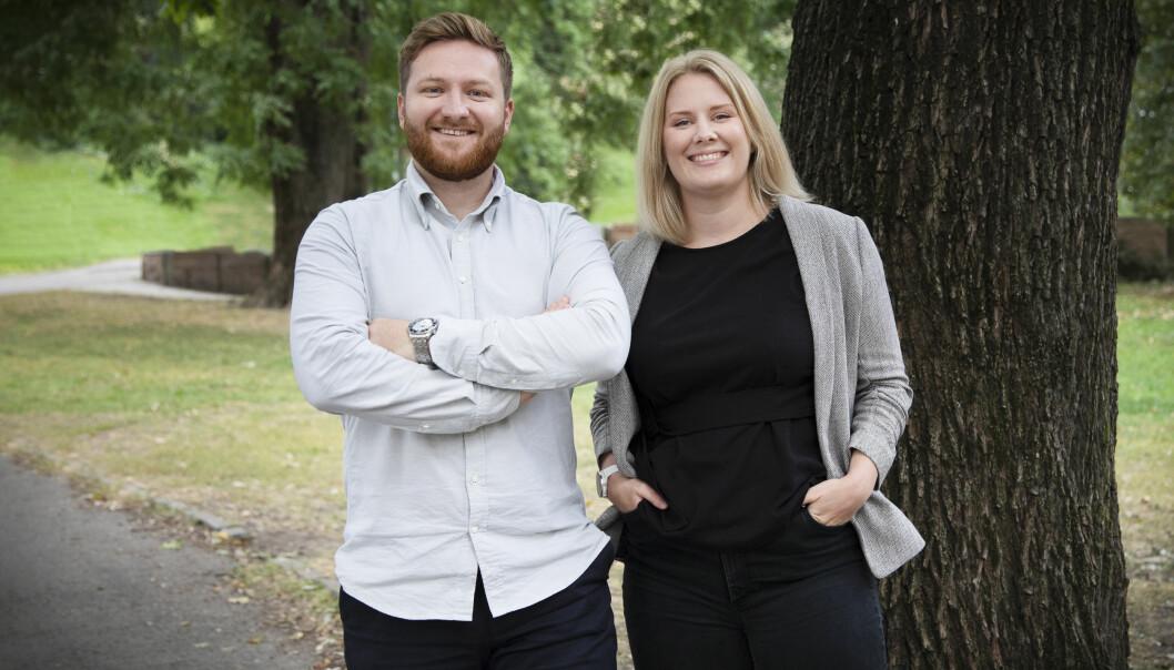 Mathias Hjelseth, Key Account Manager / Hedda Farberg, Head of Customer Success