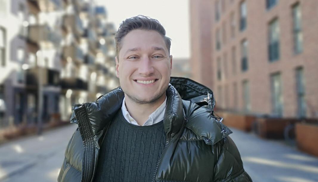 RAPPORT: Nicholas Klokholm i Autodesk sier at Norge har mye å lære på datafronten.